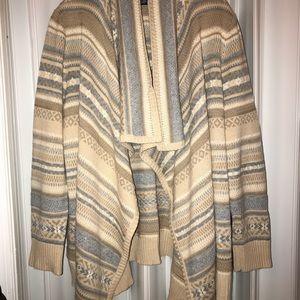 CHAPS Sweater Wrap/Shawl 🍂